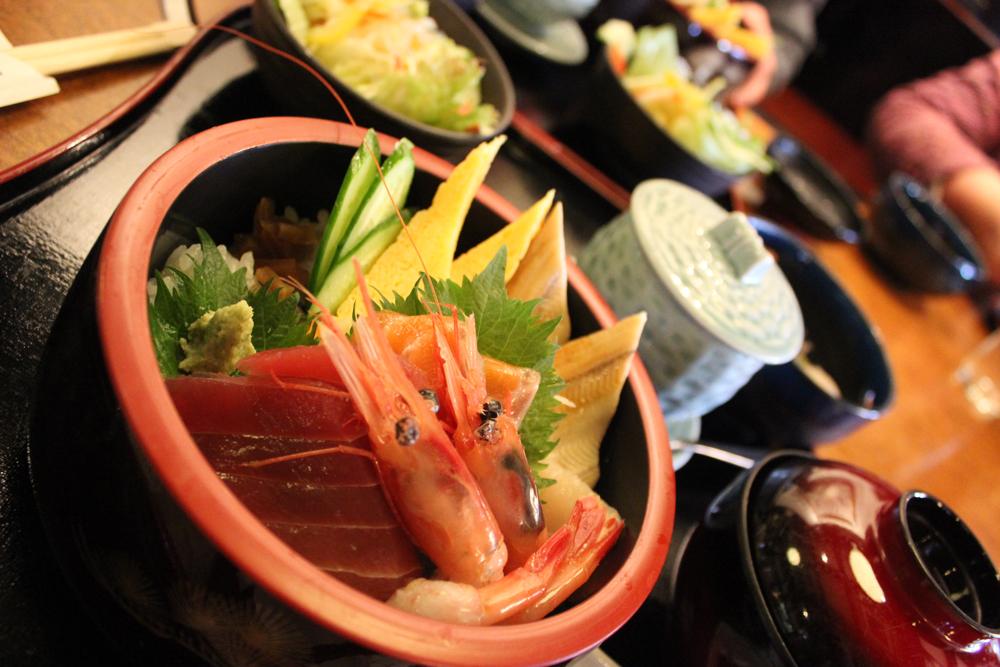 川中島 かに甲羅にてお昼ランチ