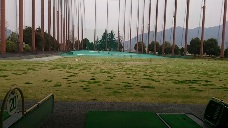 ゴルフ行きました いつまでも初心者