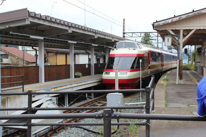 湯田中駅~駅周辺~足湯~