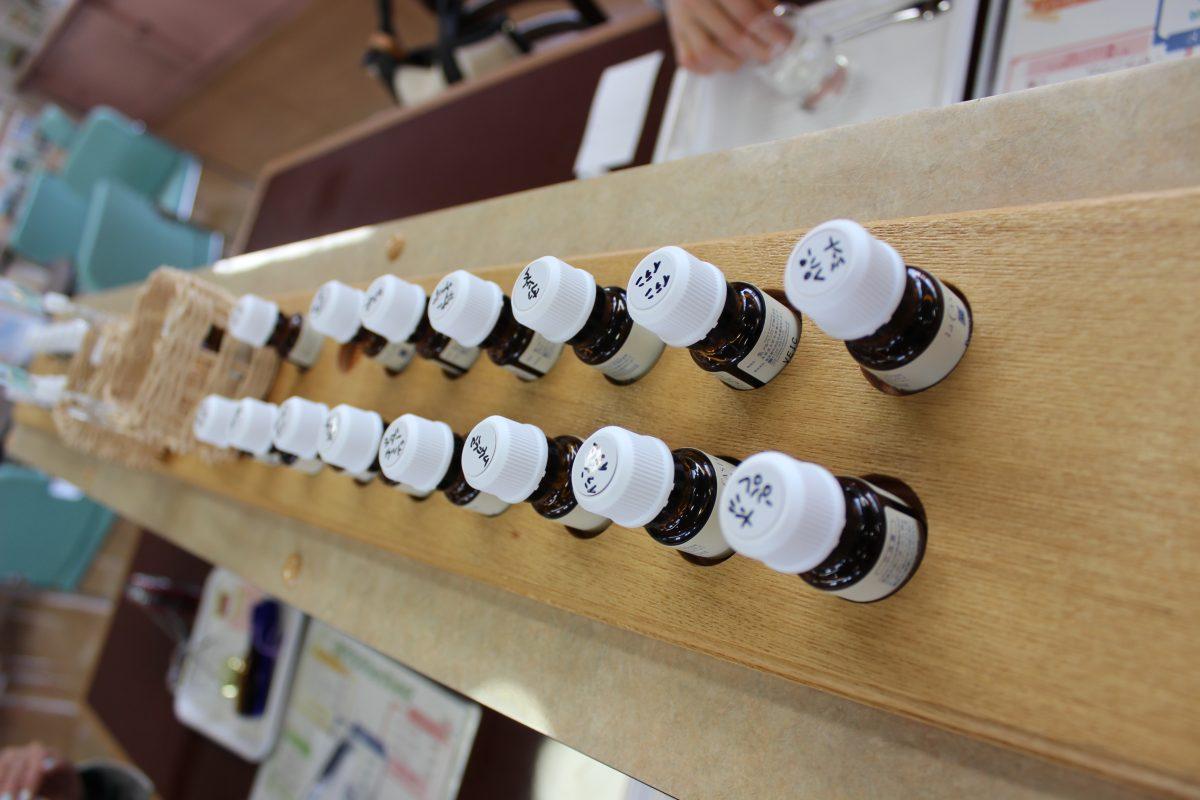 安曇野 アルペンローゼで手作り香水