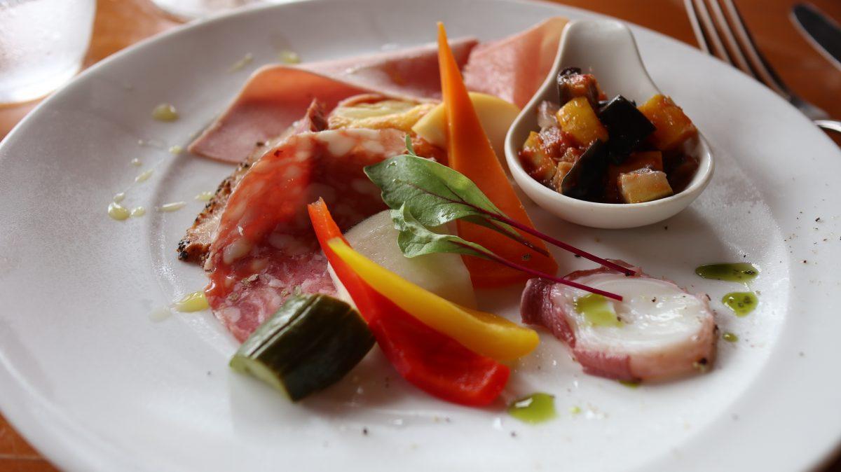 ランチコース野菜いっぱい リストランテ フローリア
