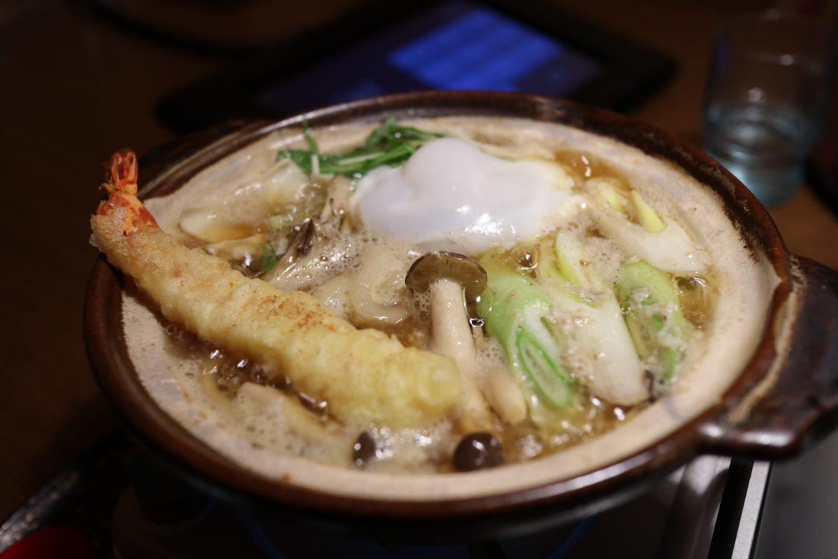 いっちょう 上田店  鍋焼きうどん